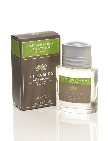 St James of London Cedarwood & Clarysage Cologne