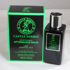 Castle Forbes Lime Essential Oil After Shave Balm