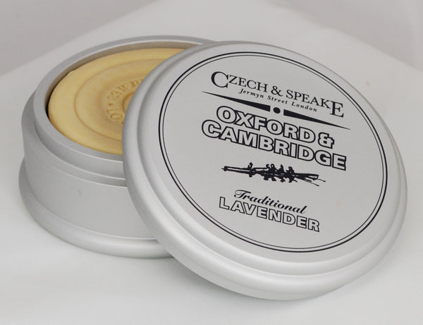 Czech & Speake Oxford & Cambridge Shaving Soap in Large Dish