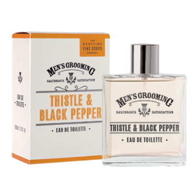 Scottish Fine Soaps Thistle & Black Pepper Eau De Toilette