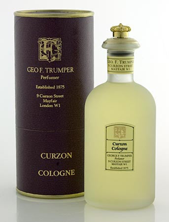 Geo F. Trumper Curzon Cologne Glass Crown Top Bottle 100ml