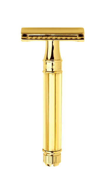 Edwin Jagger DE89811 Gold Double Edge Safety Razor