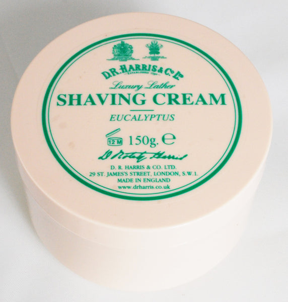 D.R. Harris Eucalyptus Shaving Cream Bowl