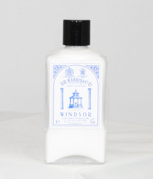 D.R. Harris Windsor Aftershave Milk 100ml, 150ml and 500ml