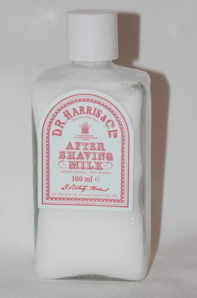 D.R. Harris Aftershave Milk 100ml, 150ml and 500ml Sizes
