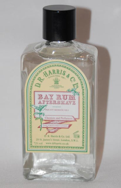 D.R. Harris Bay Rum Aftershave 100ml, 150ml and 500ml