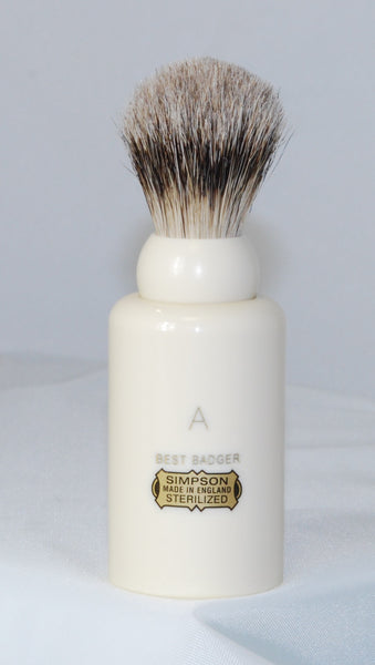 Simpson Major in Best Badger Travel Brush