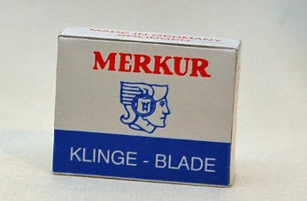 Merkur Blades for the Moustache Razor - 10 Pack