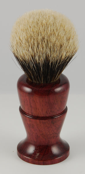 Straight Razor Designs Finest Over Stuffed Silver Tip Brush #7