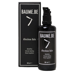 BAUME.BE Aftershave Balm 100ml, Aftershaves, BAUME.BE, Straight Razor Designs