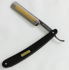 "Dovo Ebony Stainless 5/8"" Straight Razor Set - Straight Razor Designs"