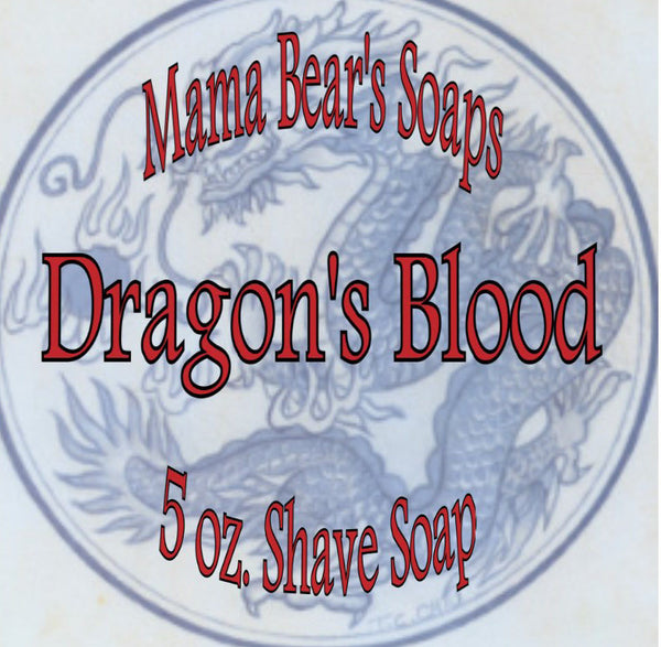 Mama Bear Glycerin Shaving Soap - Dragon's Blood