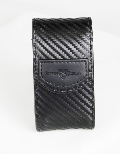 Edwin Jagger Carbon Fibre Effect Double Edge Travel Case