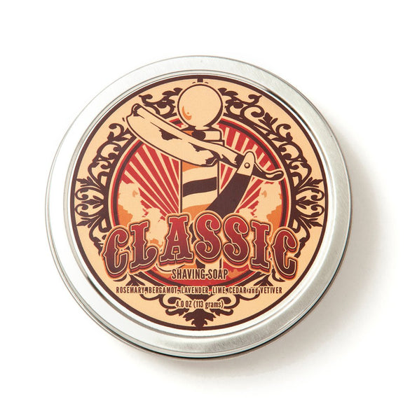 Dr. Jon's Classic Vegan Shaving Soap Vol. 2 - 4 oz.