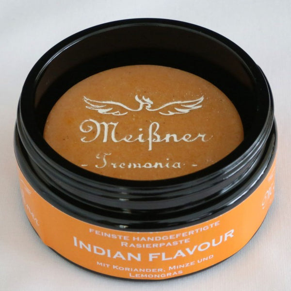 Meißner Tremonia Indian Flavour Shaving Soap Glass Jar 95g