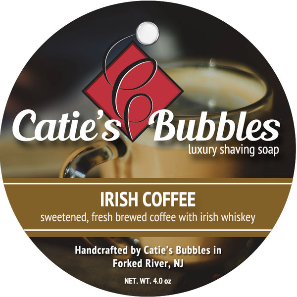 Catie's Bubbles Irish Coffee Luxury Shaving Soap 4oz
