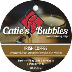 Catie's Bubbles Irish Coffee Luxury Shaving Soap 4oz - Straight Razor Designs