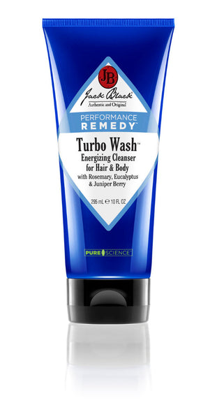 Jack Black Turbo Wash Energizing Cleanser for Hair & Body 10oz