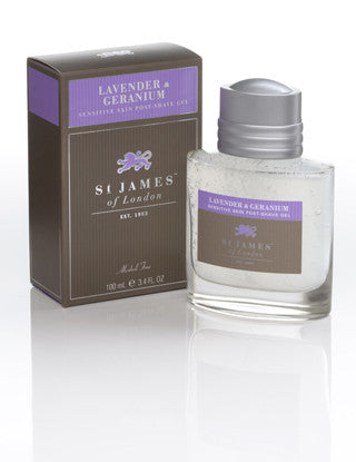 St James of London Lavender & Geranium Post-Shave Gel