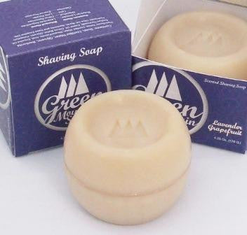 Green Mountain Soap Lavender-Grapefruit Triple Milled Shave Soap