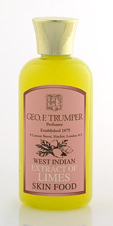Geo. F. Trumper Extract of Limes Skin Food 100ml, 200ml & 500ml