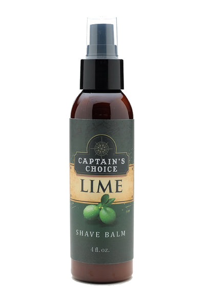 Captain's Choice Lime Shave Balm