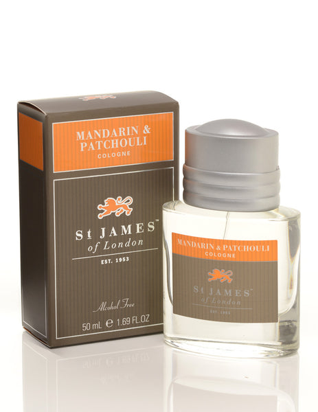 St James of London Mandarin & Patchouli Cologne