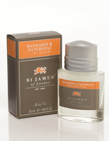 St James of London Mandarin & Patchouli Post-Shave Gel