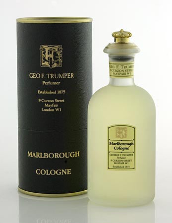 Geo F. Trumper Marlborough  Cologne Glass Crown Top Bottle 100ml
