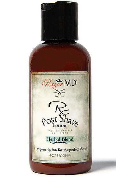 Razor MD Rx  Post Shave Lotion Herbal Blend