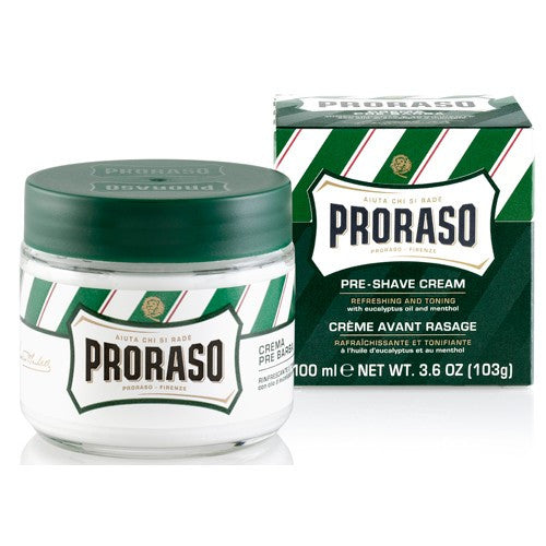 Proraso Pre-shaving Cream - Green