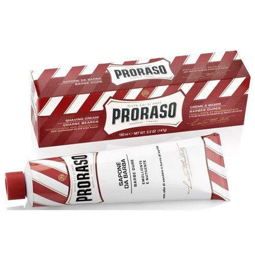 Proraso Shaving Cream in a Tube - Red