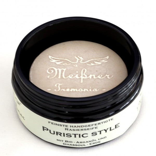 Meißner Tremonia Puristic Style Shaving Soap Glass Jar 95g