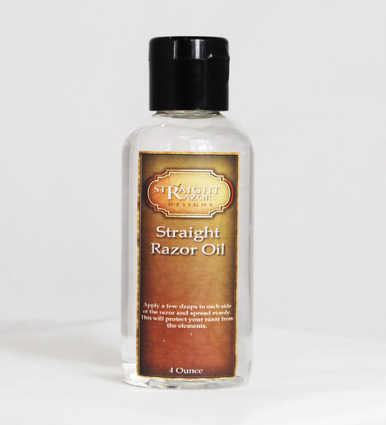Straight Razor Oil - Blade Protectant