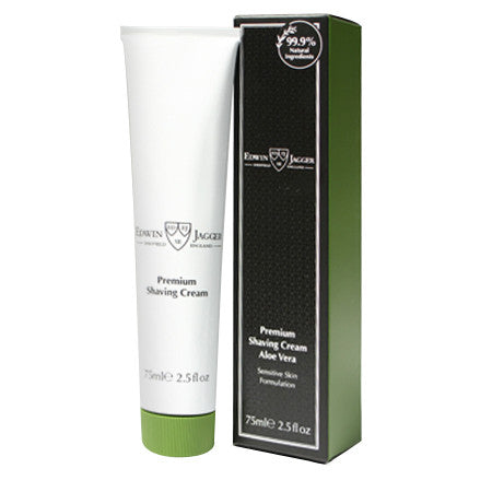 Edwin Jagger Aloe Vera Shaving Cream Tube 75ml