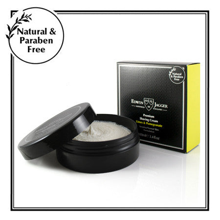 Edwin Jagger Limes & Pomegranate Shaving Cream Bowl 100ml