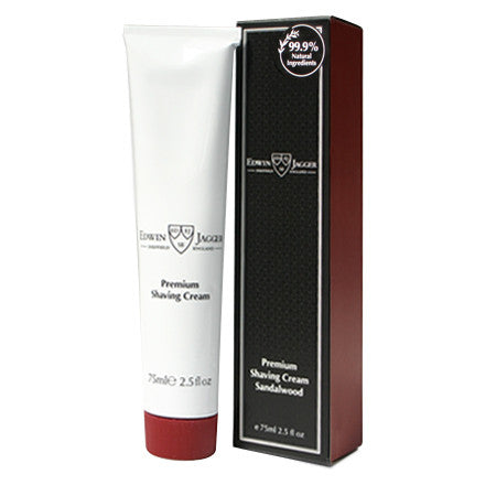 Edwin Jagger Sandalwood Shaving Cream Tube 75ml