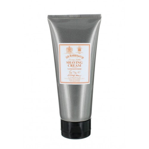 D.R. Harris Sandalwood Shaving Cream Tube