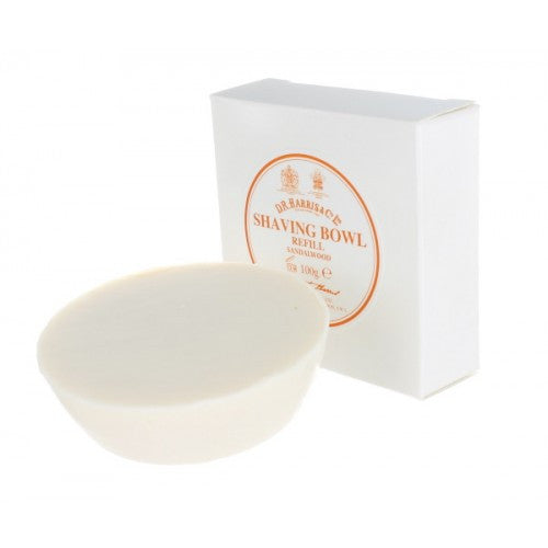 D.R. Harris Sandalwood Shave Soap Refill