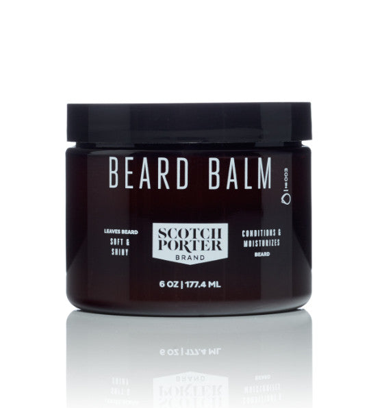 Scotch Porter Beard Balm 3 or 6 Ounce Size