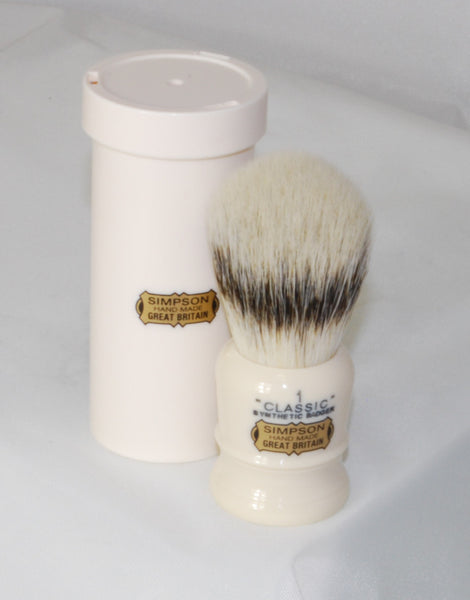 Simpson Classic 1 in Synthetic Badger