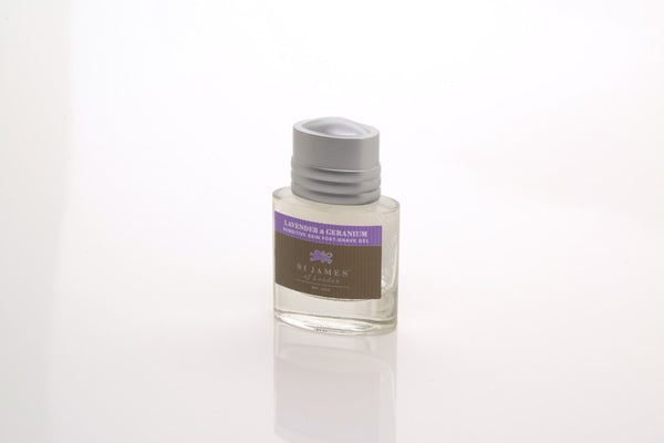 St James of London Lavender & Geranium Post-Shave Gel Travel