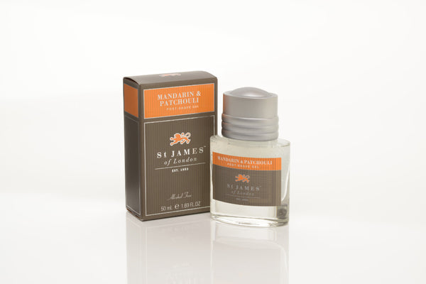 St James of London Mandarin & Patchouli Post-Shave Gel Travel