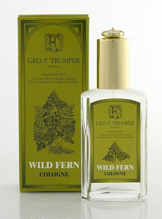 Geo. F. Trumper Wild Fern Cologne glass Atomiser Bottle 50ml