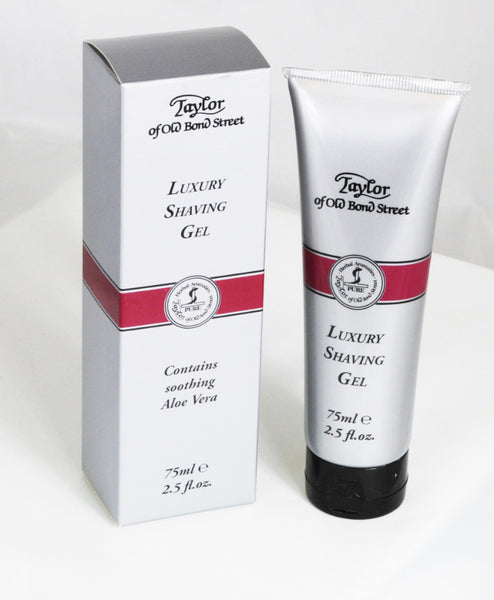 Taylor of Old Bond Street Luxury Shaving Gel Tube 75ml