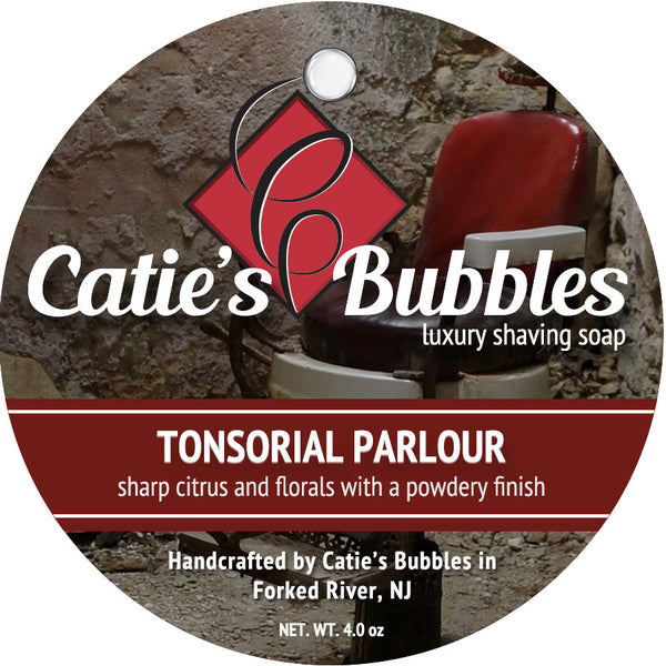 Catie's Bubbles Tonsorial Parlour Luxury Shaving Soap 4 oz