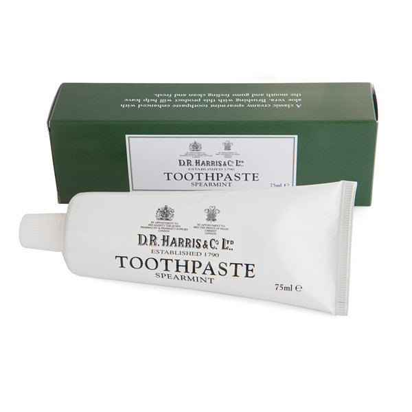 D.R. Harris Toothpaste - Spearmint