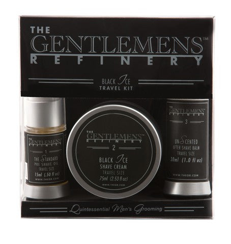 The Gentlemens Refinery Travel Trilogy Black Ice