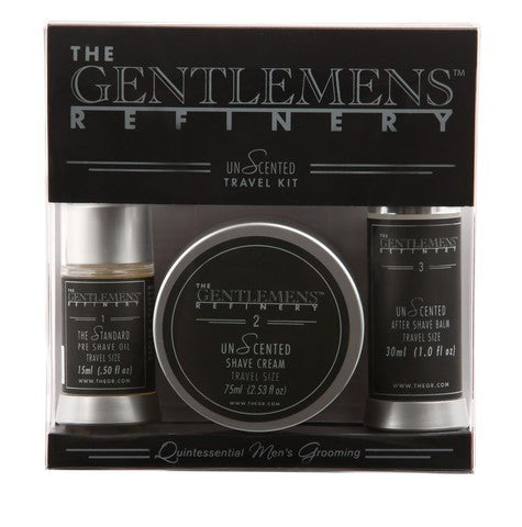 The Gentlemens Refinery Travel Trilogy Unscented