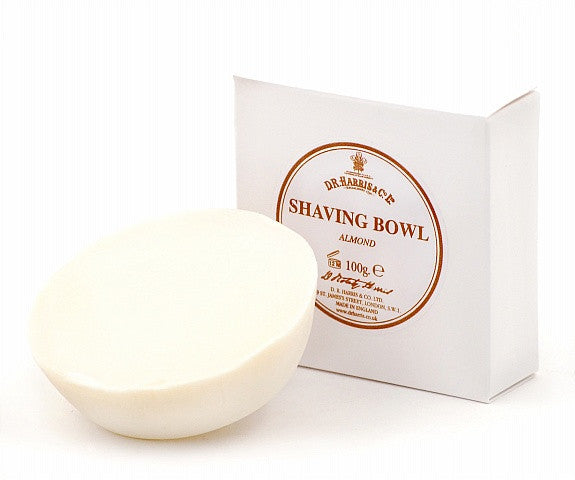 D.R. Harris Almond Shave Soap Refill